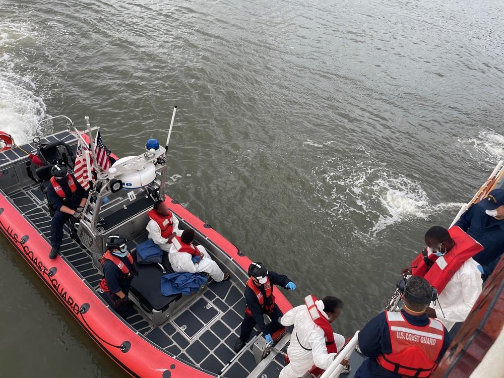 Coast Guard repatriates 13 of 14 migrants to Santo Domingo, Dominican Republic