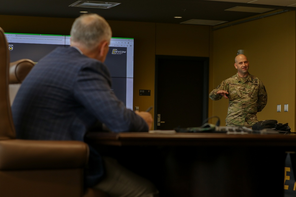Aligning For the Future:  First Team hosts DEVCOM Army Research Laboratory