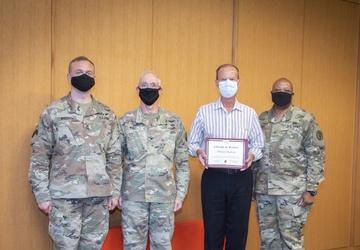 Lifetime of Service:  New award recognizes BAMC civilians serving 45-plus years