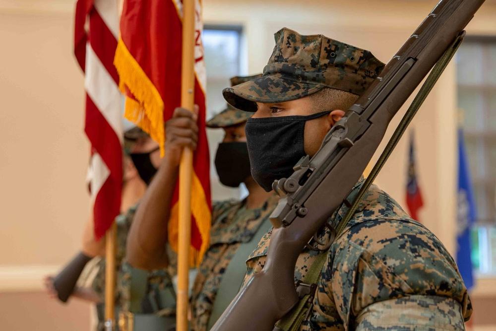2d Marine Regiment Change of Command