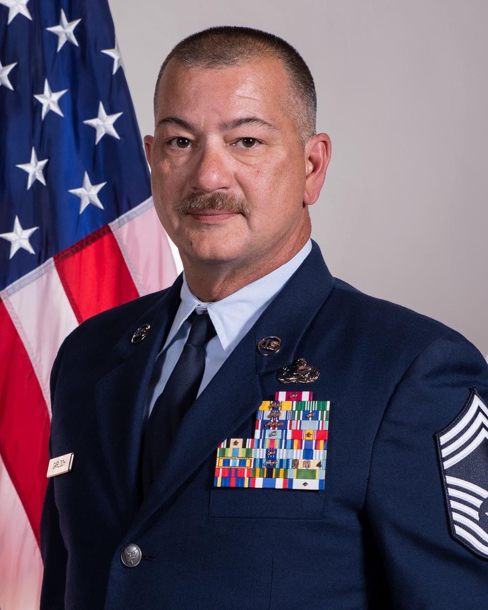 Chief Master Sgt. Garloch Official Photo