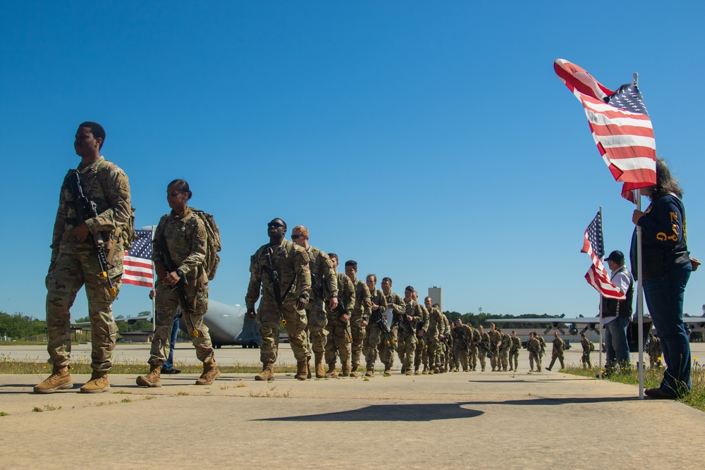 3rd BCT, 82nd Airborne Division Returns From Swift Response 21