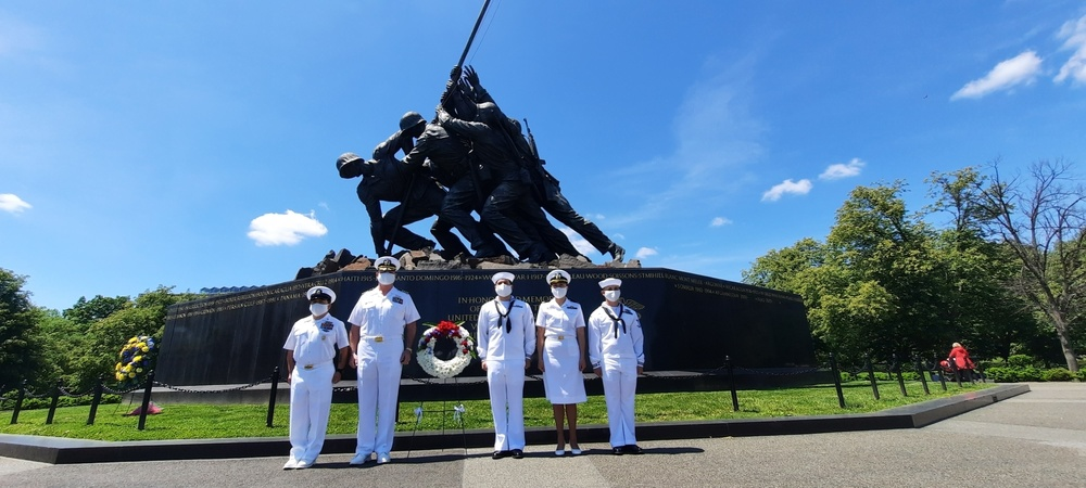 Cherry Point Sailors Honor Clinic Namesake, Medal of Honor Recipient