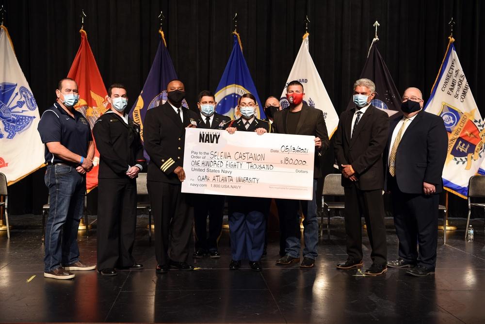 Rio Grande Valley Student receives $180K Scholarship from America's Navy