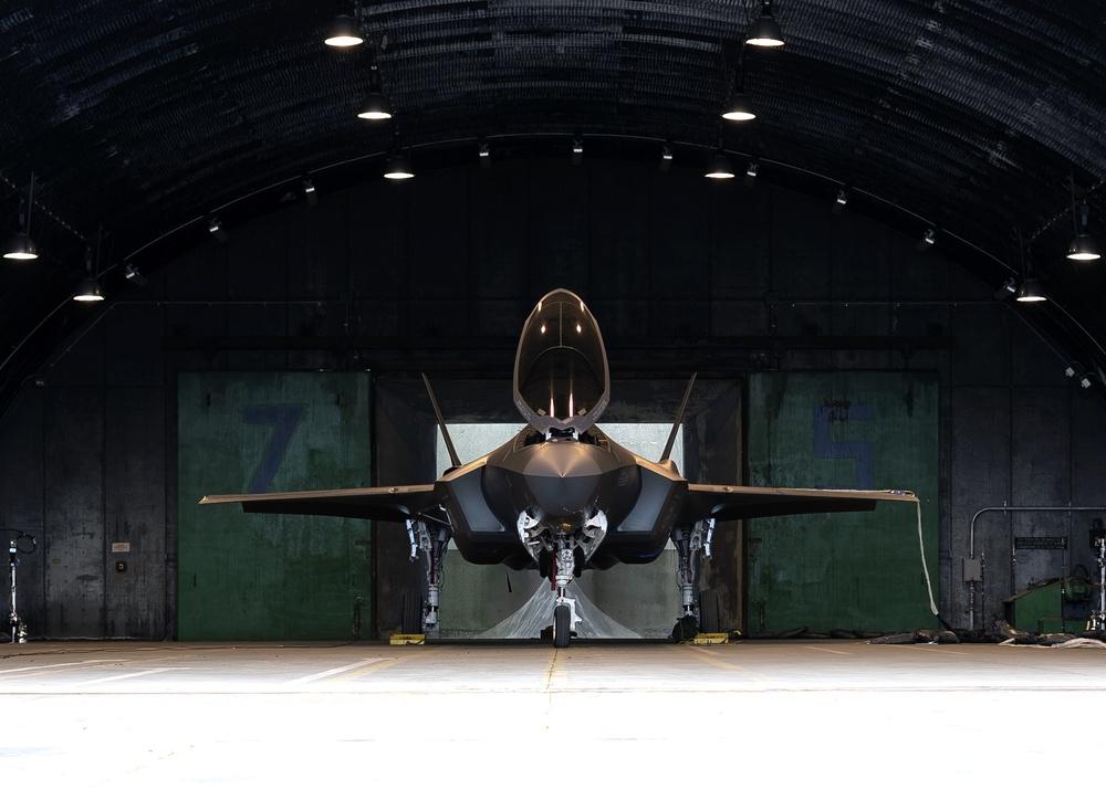 F-35 acoustic and emission testing at RAF Lakenheath
