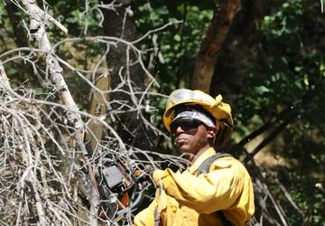 Cal Guard's Rattlesnake - Fresno Unit qualifies for fire season