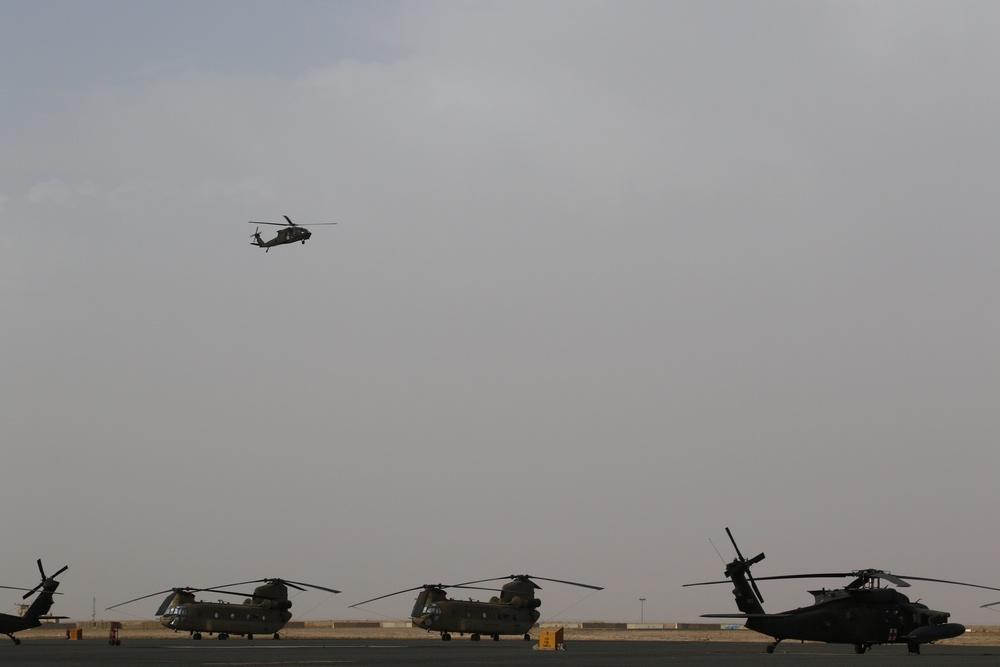 Black Hawk flight