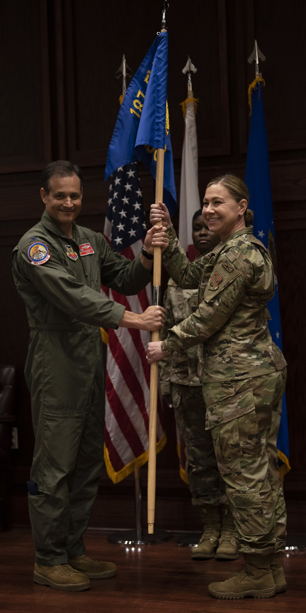 Lt. Col. Mundell Assumes Command Of 187th FW MDG