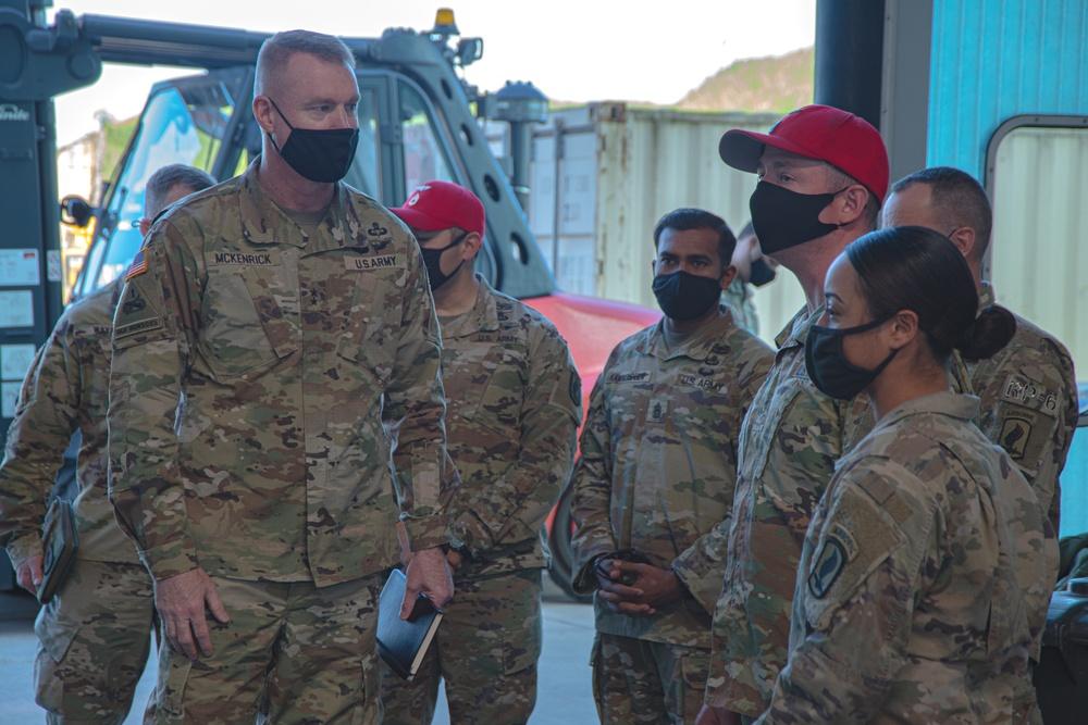 Commanding General Visit