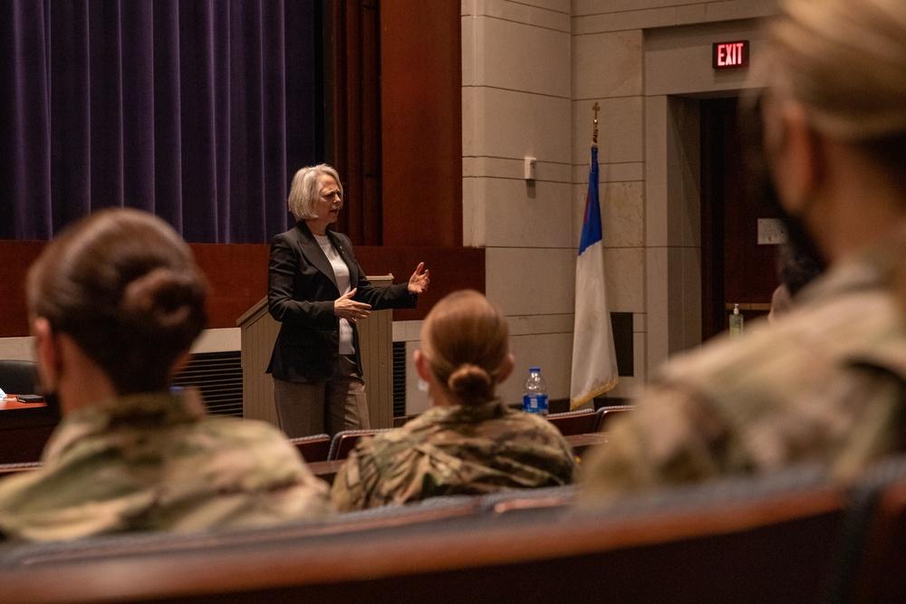 U.S. Senate Sergeant at Arms speaks at Capital professional development event