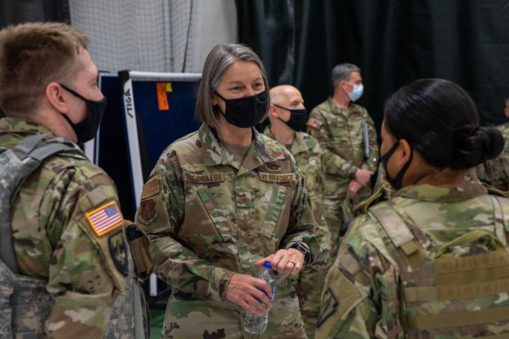 DC National Guard commander tours U.S. Capitol