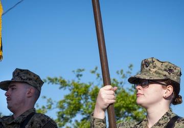 Joint Color Guard start off a memorial run