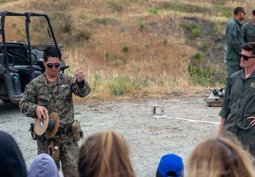 Pendleton EOD Marines hold family day