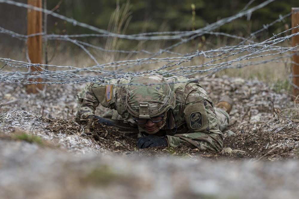 """Five Alaska Guardsmen compete for title of """"Best Warrior"""""""