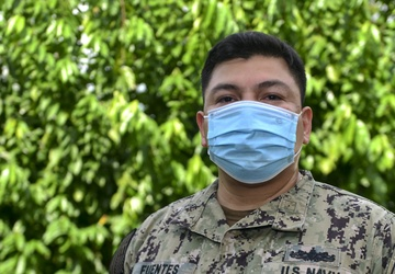 MSC Far East Sailor of the Quarter:  Petty Officer First Class Francisco Fuentes