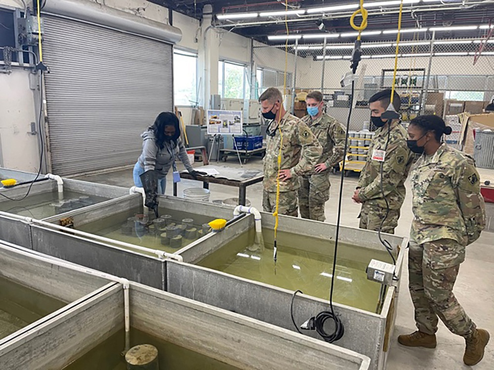 Polk engineers train with New Orleans USACE
