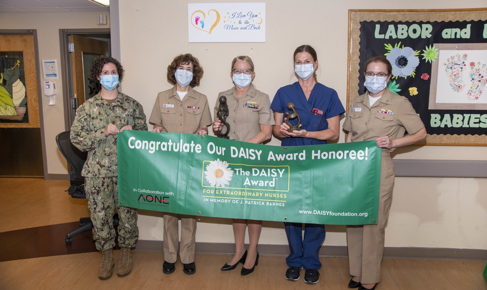 NMCP NURSE RECEIVES DAISY AWARD