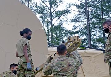 AFRC leadership visits combat comm rodeo