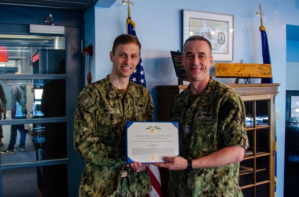 Lt. Benjamin D. Smith End of Tour Award