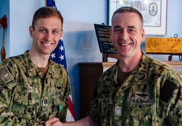Naval Submarine School Instructor and Niantic Native Recognized for Innovation During COVID-19