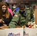 Capital Guardian Youth ChalleNGe cadets volunteer at D.C. Armory