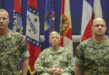 US Marine Corps Forces South welcomes 3-star commander