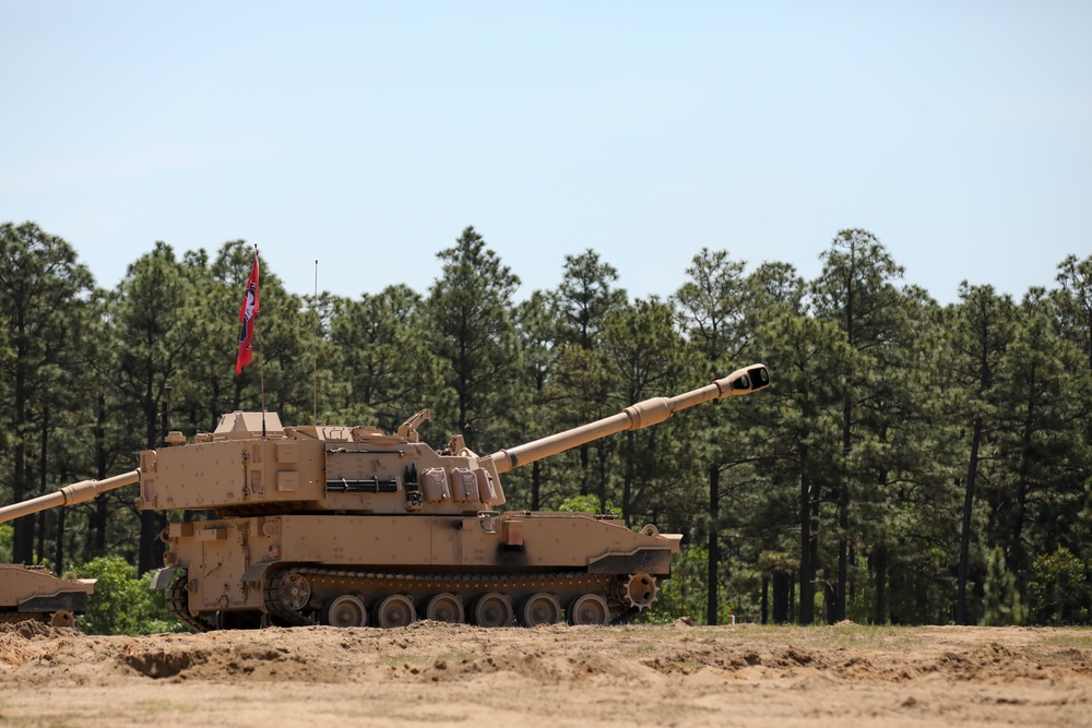 NCNG Artillery Unit First to Receive New M109A7 Paladin