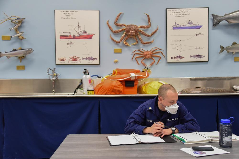Fisheries training center helps Coast Guard crews enforce laws in Alaska
