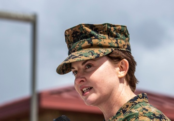 Wounded Warrior Battalion - West Conducts Change of Command