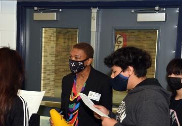 NTAG San Antonio, NNOA visit with Nimitz Middle School's Junior Cadets