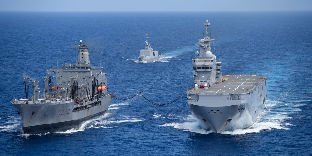 French, Japanese and U.S. Navies Build Logistics Network, Strengthen Relationships