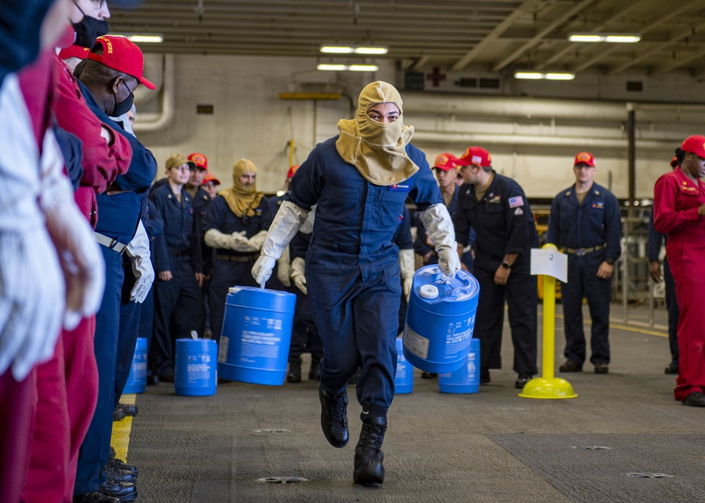 Sailors Compete In DC Relay