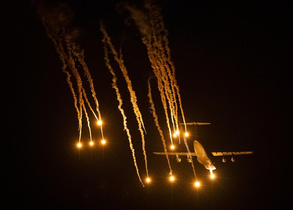 C-5 flare testing