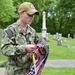 Sailors decorate cemetery for Memorial Day