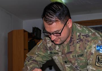 KFOR Soldiers certify in field sanitation