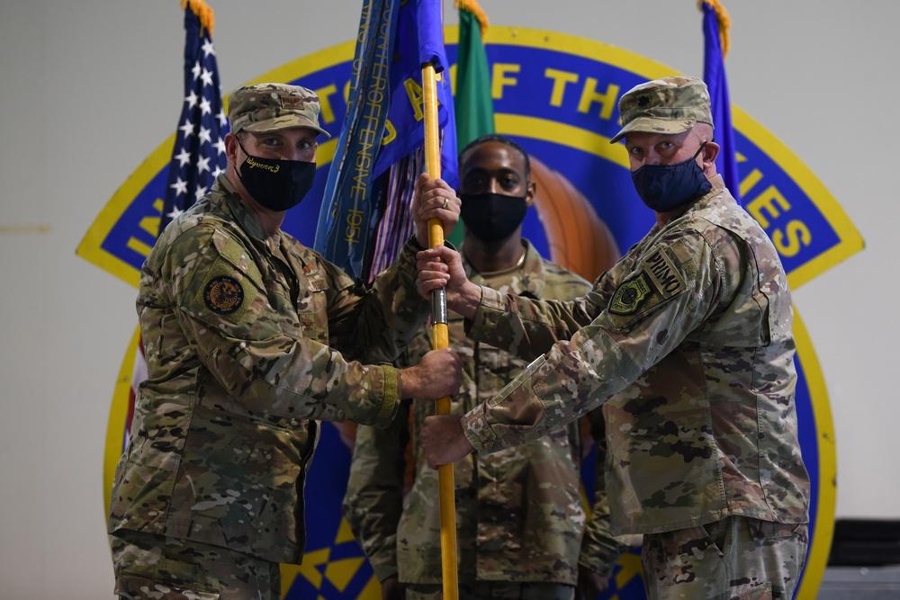606th ACS Change of Command