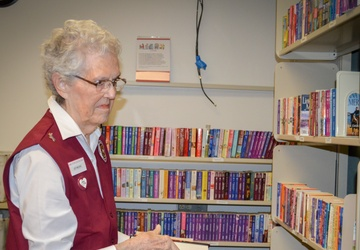 Longtime volunteer leaves legacy for others to follow