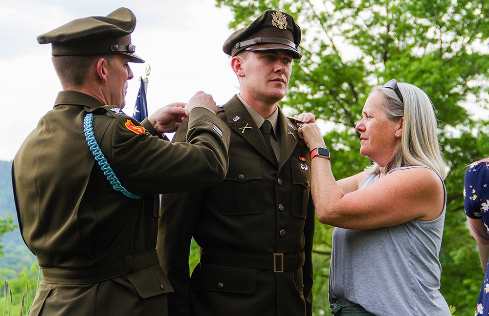 Boylan lineage of service continues, graduate follows in father's footsteps