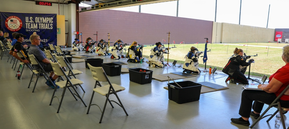 Fort Benning hosts Olympic Trials in Smallbore Rifle