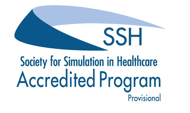 SSH Society for Simulation in Healthcare Accredited Program Provisional Graphic