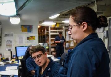 USS Ronald Reagan (CVN 76) Supply Distribution Office
