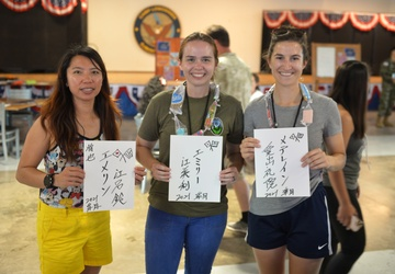 Asian Pacific Heritage shared by troops at Camp Lemonnier