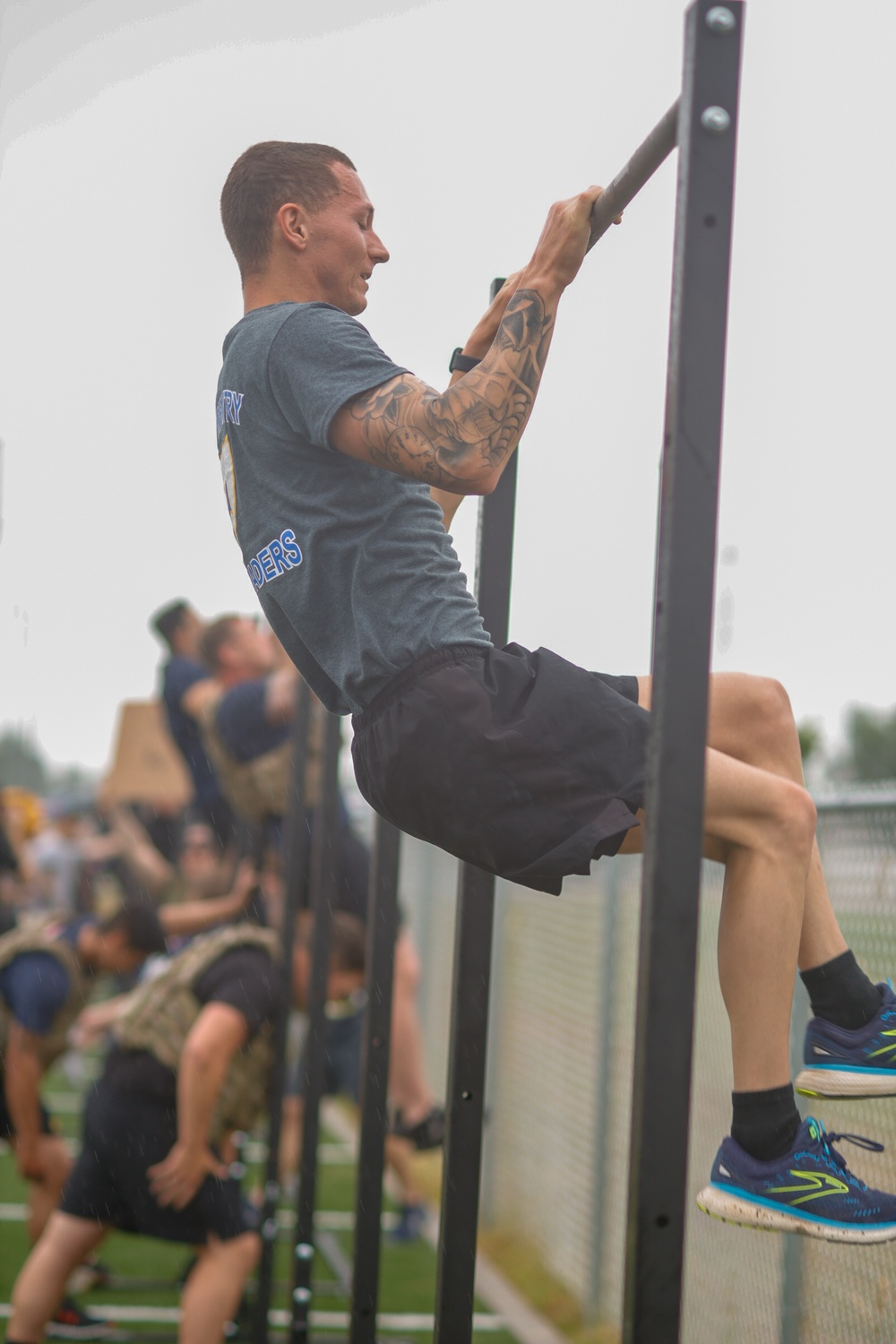 101st Airborne Division invites fitness influencers to compete in a 5 on 5 Memorial Day fitness challenge