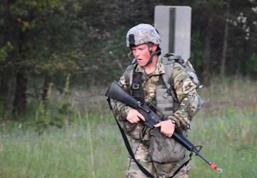 Soldiers received their Expert Field Medical Badge at Fort McCoy
