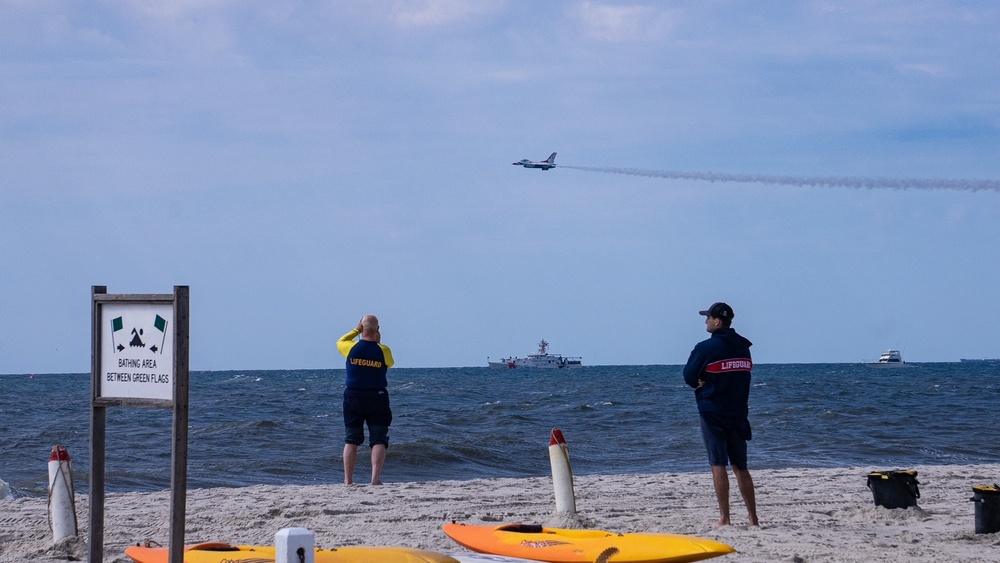 U.S. Coast Guard oversees 2021 Bethpage Air Show