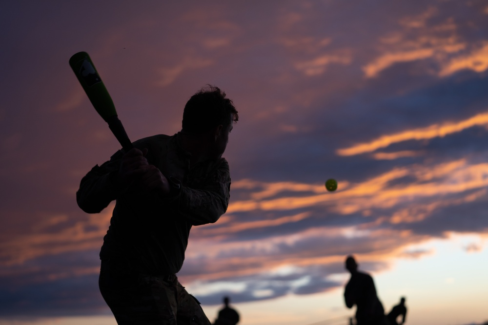 Wiffle Ball- the choice for off-time entertainment