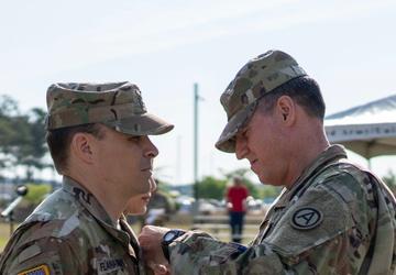 USARCENT HHBN change of command
