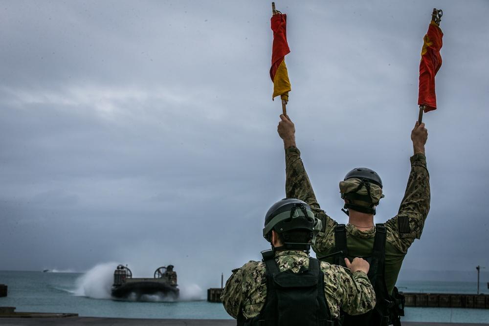 Poseidon's Watchtower 21 | 3d LSB Marines prepare equipment at Naval Base White Beach