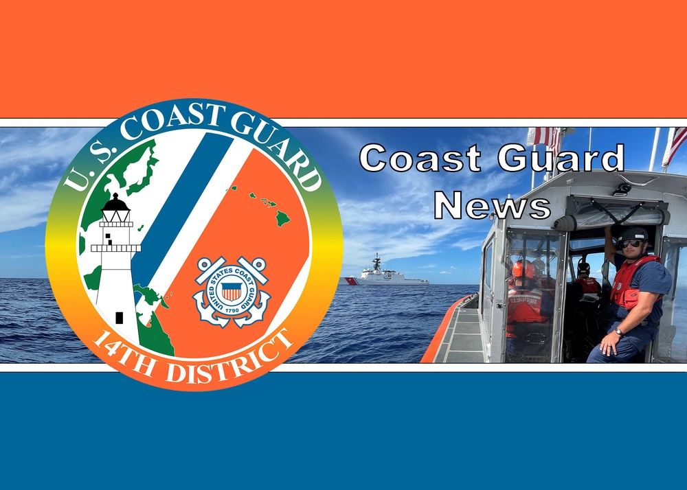 Coast Guard rescues overboard mariners off Oahu