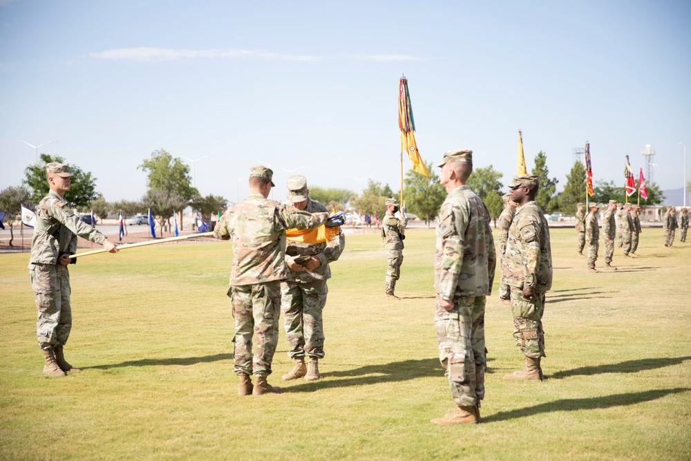 Bulldog Brigade Casing Ceremony